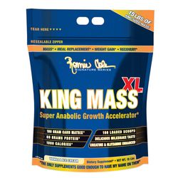 King-Mass-XL---15-Lbs---Ronnie-Coleman-Kingmass-Xl---Vanilla-Icecream---15-Lbs