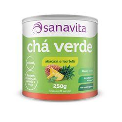 Cha-Verde---300g---Sanavita-Cha-Verde-Abacaxi