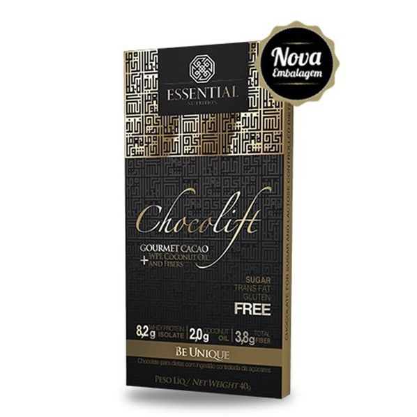 Chocolift---40g---Chocolate-com-Whey-Protein-Isolado---Essential-Tabela-Chocolift