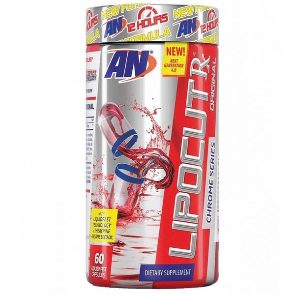 LipoCut-RX---60-capsulas---Arnold-Nutrition-Lipo-Cut-Rx-Tabela-Nutricional