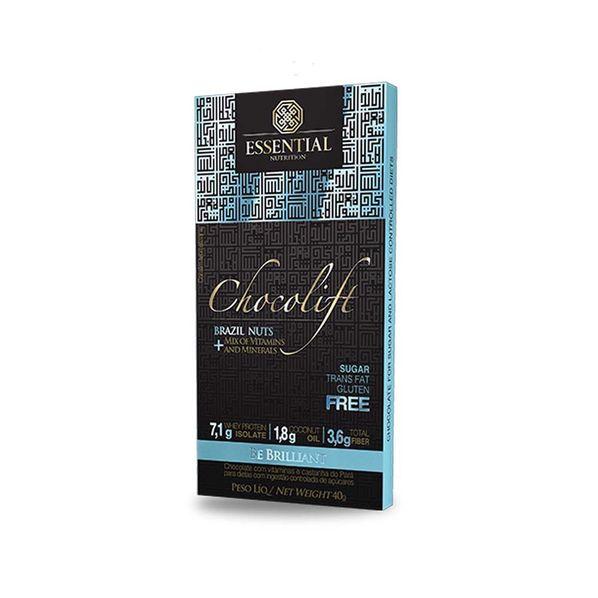 Chocolift---40g---Chocolate-com-Whey-Protein-Isolado---Essential-Be-Brillant