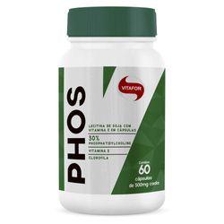 PHOS-Fosfatidilcolina-e-Lecitina-de-Soja---60-capsulas---Vitafor-Phos60