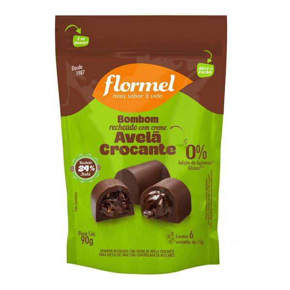 Pouch-Bombom-de-Avela-Crocante---6-unidades---Flormel-Bombom-Avela