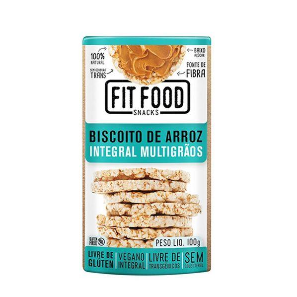 Biscoito-de-Arroz-Integral-Multigraos---100g---Fit-Food-Fit-Food-Arroz-Multigrao