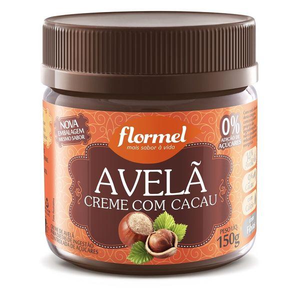 Creme-de-Avela-com-Cacau---150g---Flormel-Avela-Creme-Com-Cacau-Flormel