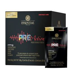 Pre-Action-Energy-Drink---20-saches---Essential-Pre-Action-Tabela