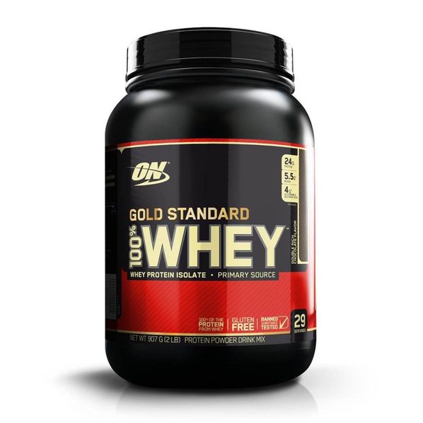 100--Whey-Protein-Gold-Standard---2lbs---Optimum-Nutrition-Gold-Chocolate