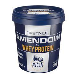 Pasta-de-Amendoim-com-Whey-Protein-e-Avela---450g---Mandubim-Com-Whey-Protein