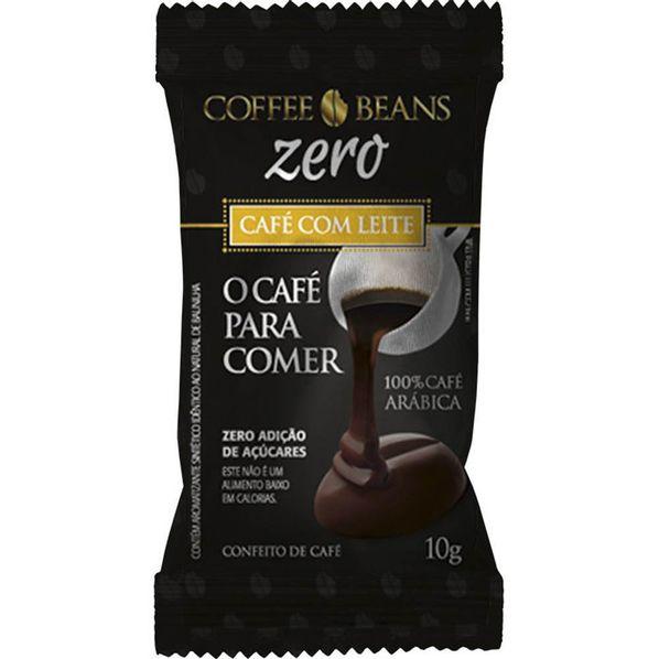 Coffee-Beans---Cafe-com-Leite-Zero---10g--Cafe-para-Comer--Coffe-Beans-Cafe-Com-Leite