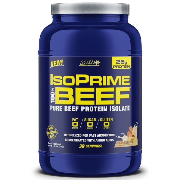 IsoPrime-100--Beef-Protein-792g--2-lbs----Baunilha---MHP---FastNutri