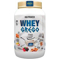 Whey-Grego-Leite-Natural---900g---Nutrata-Grego-Natural