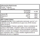 ZMA---120-capsulas---Arnold-Nutrition-Zma-arnold-nutrition-tabela-nutricional