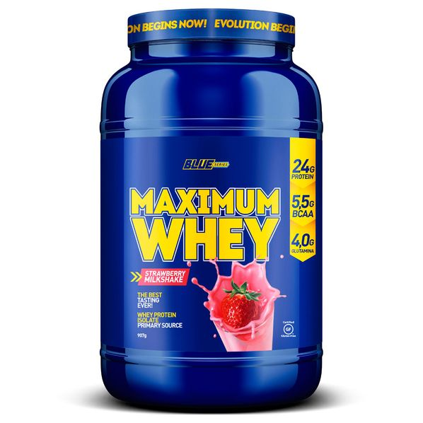 Maximum-Whey-2lbs-Morango