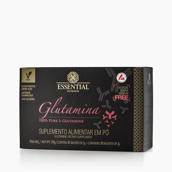 Glutamina-100--pure---Caixa-30-saches---5g