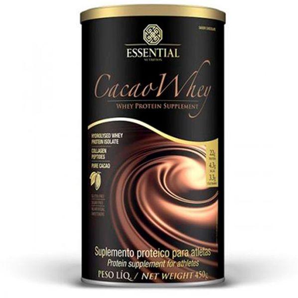 Cacao-Whey-Hidrolisado-e-Isolado---Essential---450g-Cacao-Whey-Essential-Nutrition
