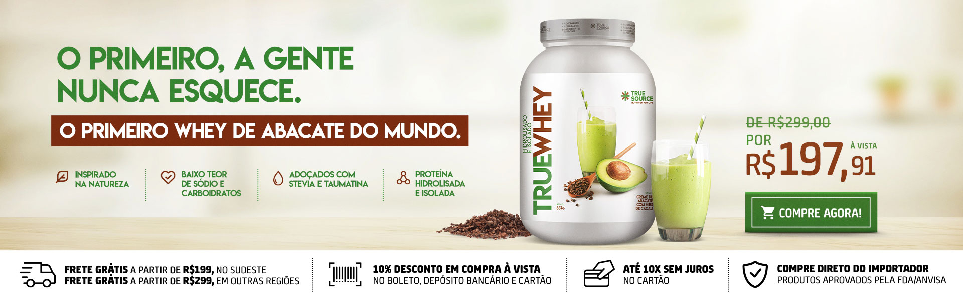 True Whey Abacate